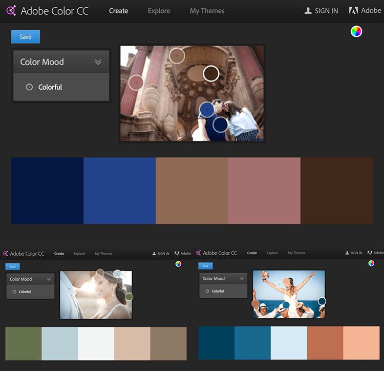 Blog IpsisPro Adobe-Color Aprenda a usar a combinação de cores na fotografia para emocionar seus clientes