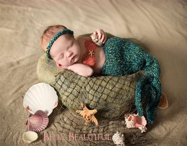 Blog IpsisPro sereia-1 Ideias para ensaio newborn | Conheça fontes de inspiração para fazer fotos mais originais