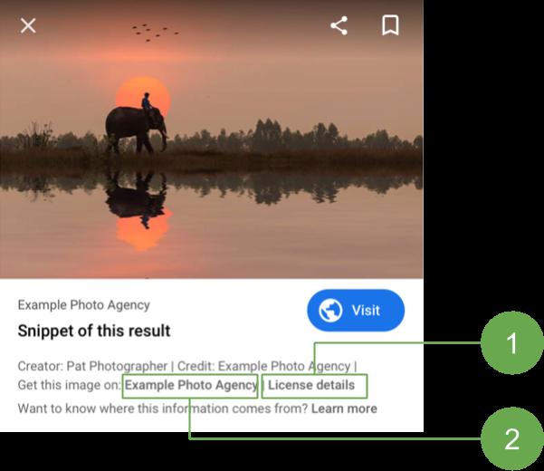 Blog IpsisPro google-imagens-selo-licenciavel Google Imagens insere selo licenciável para ajudar fotógrafos a vender