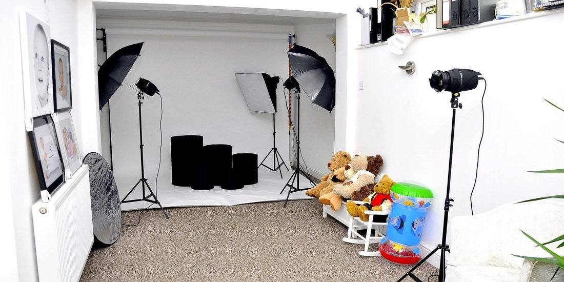 equipamentos necessários para montar um estúdio fotográfico