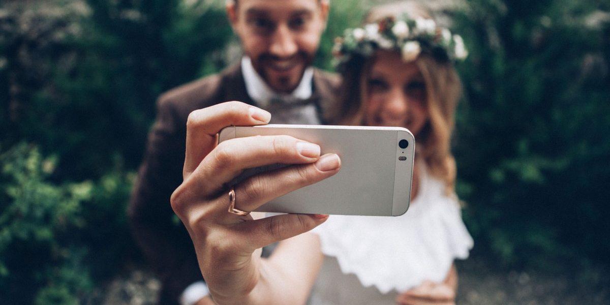 selfie Casamento